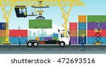 container cranes have delivery...