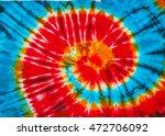 spiral tie dye design for...   Shutterstock . vector #472706092