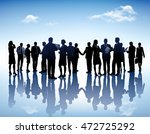 large business group vector... | Shutterstock .eps vector #472725292
