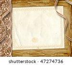 framework for greeting or...   Shutterstock . vector #47274736