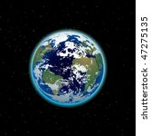 beautiful planet earth | Shutterstock .eps vector #47275135