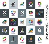 vector logo finance | Shutterstock .eps vector #472768642