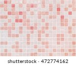 closeup surface tiles pattern... | Shutterstock . vector #472774162