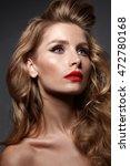 close up portrait of beautiful... | Shutterstock . vector #472780168