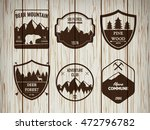 camping and outdoors adventure... | Shutterstock .eps vector #472796782
