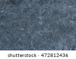grey cotton fabric texture or... | Shutterstock . vector #472812436