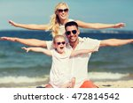 family  vacation  adoption and... | Shutterstock . vector #472814542