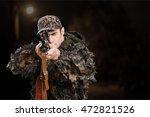 hunter. | Shutterstock . vector #472821526