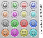 set of www globe plastic sunk... | Shutterstock .eps vector #472835908