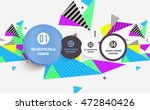 abstract background. geometric...   Shutterstock .eps vector #472840426