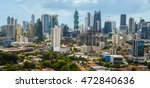 downtown panama city... | Shutterstock . vector #472840636