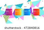 abstract background. geometric...   Shutterstock .eps vector #472840816