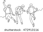 continuous line drawing of... | Shutterstock .eps vector #472913116