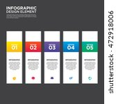 infographic business report... | Shutterstock .eps vector #472918006