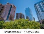 financial district area of... | Shutterstock . vector #472928158