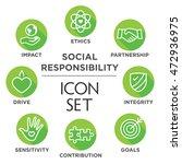social responsibility outline... | Shutterstock .eps vector #472936975