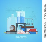 physics science education... | Shutterstock .eps vector #472943236