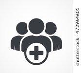 user group icon. management... | Shutterstock .eps vector #472964605