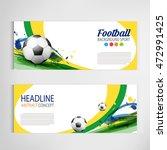 soccer tournament modern sport... | Shutterstock .eps vector #472991425