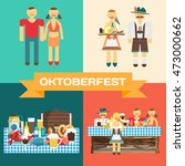 set of pictures of the... | Shutterstock .eps vector #473000662