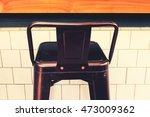 bar chairs in cafe. | Shutterstock . vector #473009362