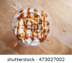 Coffee Caramel Frappe With...