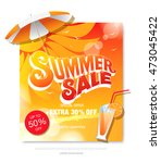 summer sale template banner | Shutterstock .eps vector #473045422