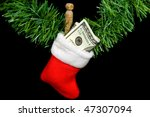 Money In Christmas Sock