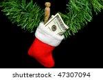 Money In Christmas Sock
