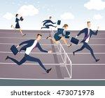 cartoon character  businessman... | Shutterstock .eps vector #473071978