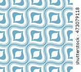 seamless ornamental pattern... | Shutterstock .eps vector #473079118