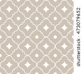 seamless ornamental pattern... | Shutterstock .eps vector #473079652