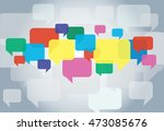 chat box   message box...   Shutterstock .eps vector #473085676