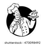 a vector illustration of chef... | Shutterstock .eps vector #473098492
