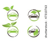 green car icon | Shutterstock .eps vector #47310763
