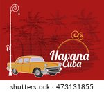 havana cuba | Shutterstock .eps vector #473131855