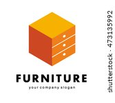 logo for furniture companies ... | Shutterstock .eps vector #473135992
