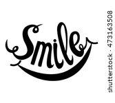 Smile. Hand Drawn Inspiration...
