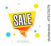 sale template banner. poster.... | Shutterstock .eps vector #473170276
