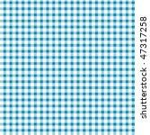 pattern blue picnic | Shutterstock .eps vector #47317258