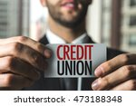 credit union | Shutterstock . vector #473188348