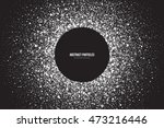 abstract bright white shimmer... | Shutterstock .eps vector #473216446