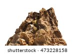 Top of rock mountain model at...