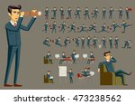cartoon illustration of a... | Shutterstock . vector #473238562