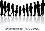 from the smallest to the... | Shutterstock .eps vector #47323903