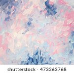 abstract gouache painting.... | Shutterstock . vector #473263768