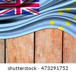 3d illustration of tuvalu... | Shutterstock . vector #473291752