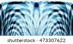 old antique background with... | Shutterstock . vector #473307622