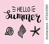 conceptual hand drawn phrase... | Shutterstock .eps vector #473314585