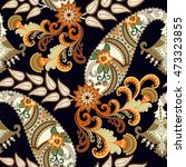 seamless pattern with  colorful ... | Shutterstock . vector #473323855